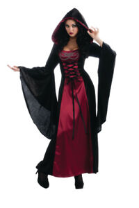 Medieval Lady Gothic Enchantress Adult Costume.