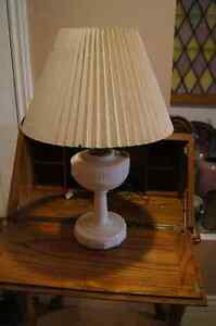 Alacite tall lincoln drape aladdin lamp electrified