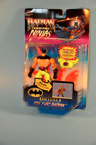 NEW Vintage 1998 Kenner FIST FURY BATMAN Action Figure Toy