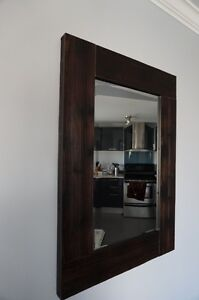 Mirror and Painting and Frame