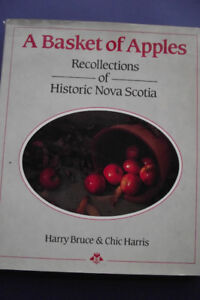 A Basket of Apples - A Recollection of Nova Scotia used hardcove