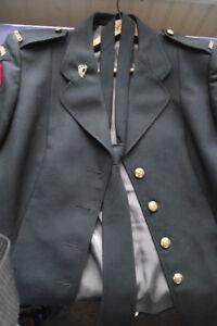 Vintage Canadian Military Jacket /Blazer 1987 and Tie