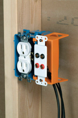 Carlon 1 Gang Low Voltage Add On Bracket SC100SC FREE SHIPPING