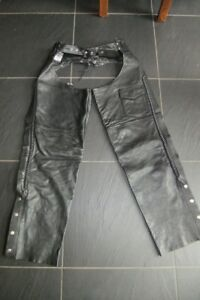 Leather Chaps - Large