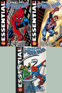 Amazing Spider-Man Essential Volumes 4, 5 and 6