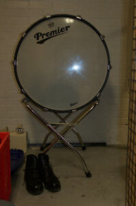Marching or concert bass drum