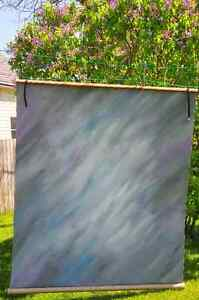 Painted Canvas Backdrop