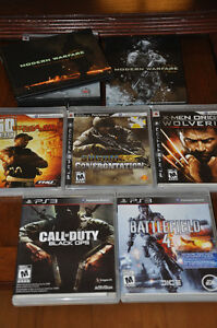 JEUX PS3 CONSOLE PLAYSTATION 3 GT4 BLACK OPS SOCOM