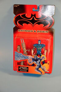 NEW Vintage 1997 Kenner Batman MR FREEZE action Figure Toy
