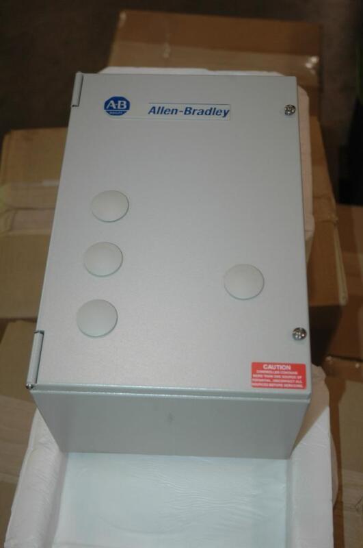 Allen Bradley 109-C16FDE1R Enclosed Motor Starter IEC &193 Overload Relay 5-15HP
