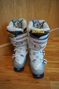 Solomon Ladies 24.5 used maybe 2 hours!  Paid over $550.00