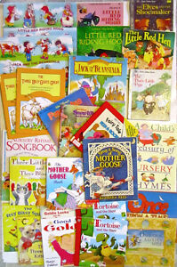 FAIRY TALE & NURSERY RHYME Children's Book COLLECTION!