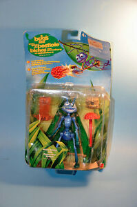 Disney Pixar BUG'S LIFE Hang Glider FLIK Action Figure Toy