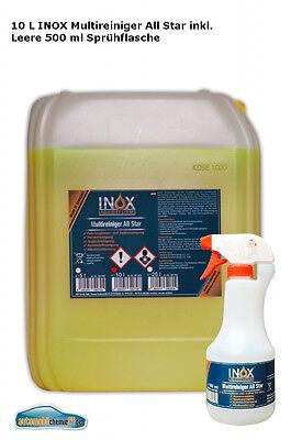 Multireiniger Konzentr. Fahrzeugaufbereitung 1x10 L + leere 500 ml Sprühflasche ()