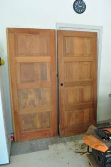 Set of 2 Corinthian Infinity Solid Timber Doors for Entrance