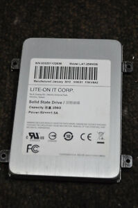 256gb solid state drive (lite on it corp #lat-256m3s),