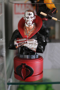 G.I Joe Destro Mini-bust