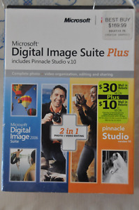 Microsoft Digital Image Suites Plus - perfect condition