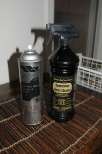 Granite cleaner and Stainless Steel cleaner