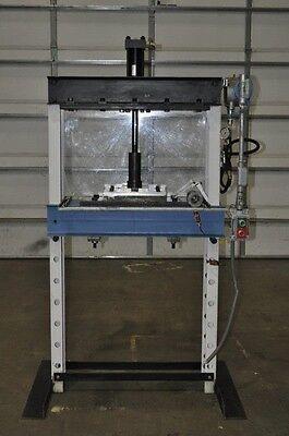 20 Ton Px H-frame Hydraulic Shop Press Planet Machinery Stock 4979