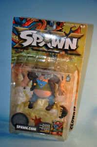 2001 McFarlane Spawn Comics Action Figure CLOWN IV Sewer