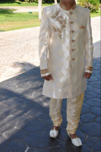 Kurta - Men's indian outfit with shoes