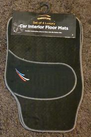 Set Of 4 Luxury Car Interior Floor Mats
