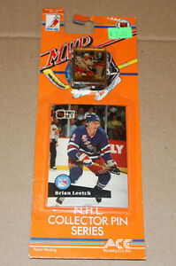 Pro Set 1991-92 hockey card and pin Strathcona County Edmonton Area image 1
