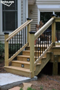 Wanted, I need deck stairs and gates built asap