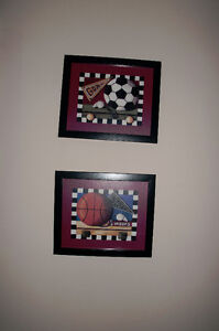 SPORTS THEMED FRAMED PICTURES London Ontario image 2