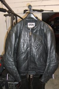 IXS Leather Motorcycle Jacket (Price Reduced)