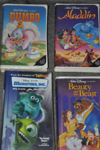 VHS assortment of movies, children and Disney, great condition
