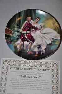 King and I- Yul Brynner commemorative plates