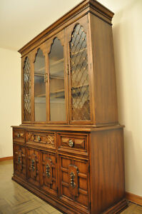 Gibbard China Cabinet/Hutch - excellent condition