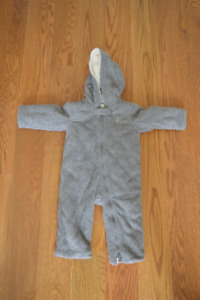 Baby Gap Fleece Winter Fleece Bunting Suit - Size 3-6 Months