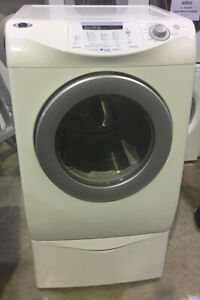 "27"" Maytag front load dryer pedestal white $499!! as* tor"