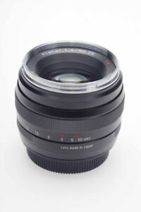 Zeiss Planar 50mm F/1.4 ZE Mint Condition for Canon