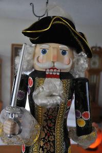 "Nutcracker - Pirate King 28"" high"