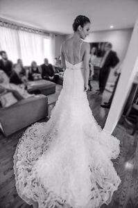 Jasmine Haute Couture Wedding Dress (Size 8)