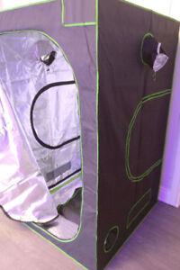 Hydroponic Growing Tent Box Hut Light Kit —3x3—4x4—5x5—6x6—8x8