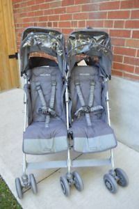Maclaren Double Stroller (grey)