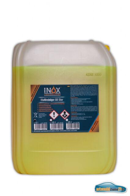 Allesreiniger Fleckenlöser Orangenöl Konzentrat Reiniger Fettlöser INOX 1x5 L
