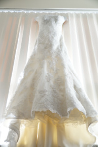 Wedding gown by Essence of Australia
