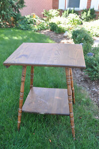 Wooden Square Table - great for Chalk painting! Cambridge Kitchener Area image 1
