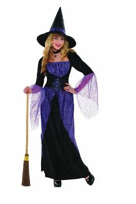 SALE Adult Pretty Potion Witch Ladies Halloween Party Fancy Dress Costume Outfit - Pretty Woman Halloween Outfit