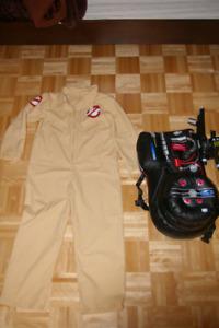 Costume chasseur de fantômes Ghostbuster pour enfants