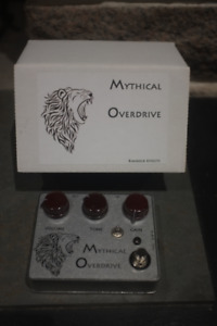Rimrock Effects Mythical Overdrive Pedal