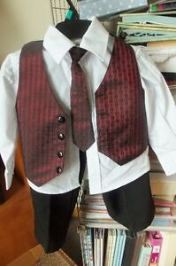 Boys 4pc Outfit Size 4