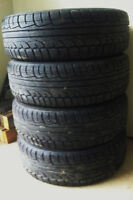 185/65/14 Kumho winter tires on rims