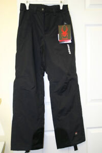 SPYDER  SKI pants BLACK color